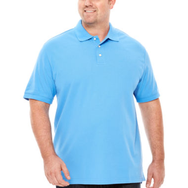 jcpenney.com | The Foundry Big & Tall Supply Co.™ Short-Sleeve Piqué Polo Shirt