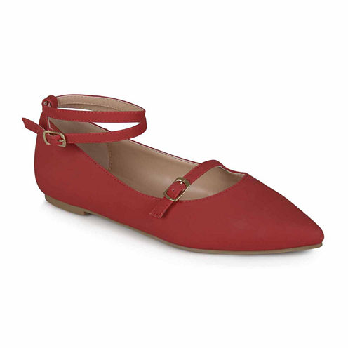 Journee Collection Nilly Womens Ballet Flats