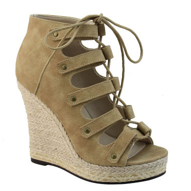 jcpenney.com | Michael Antonio Gizi Womens Wedge Sandals