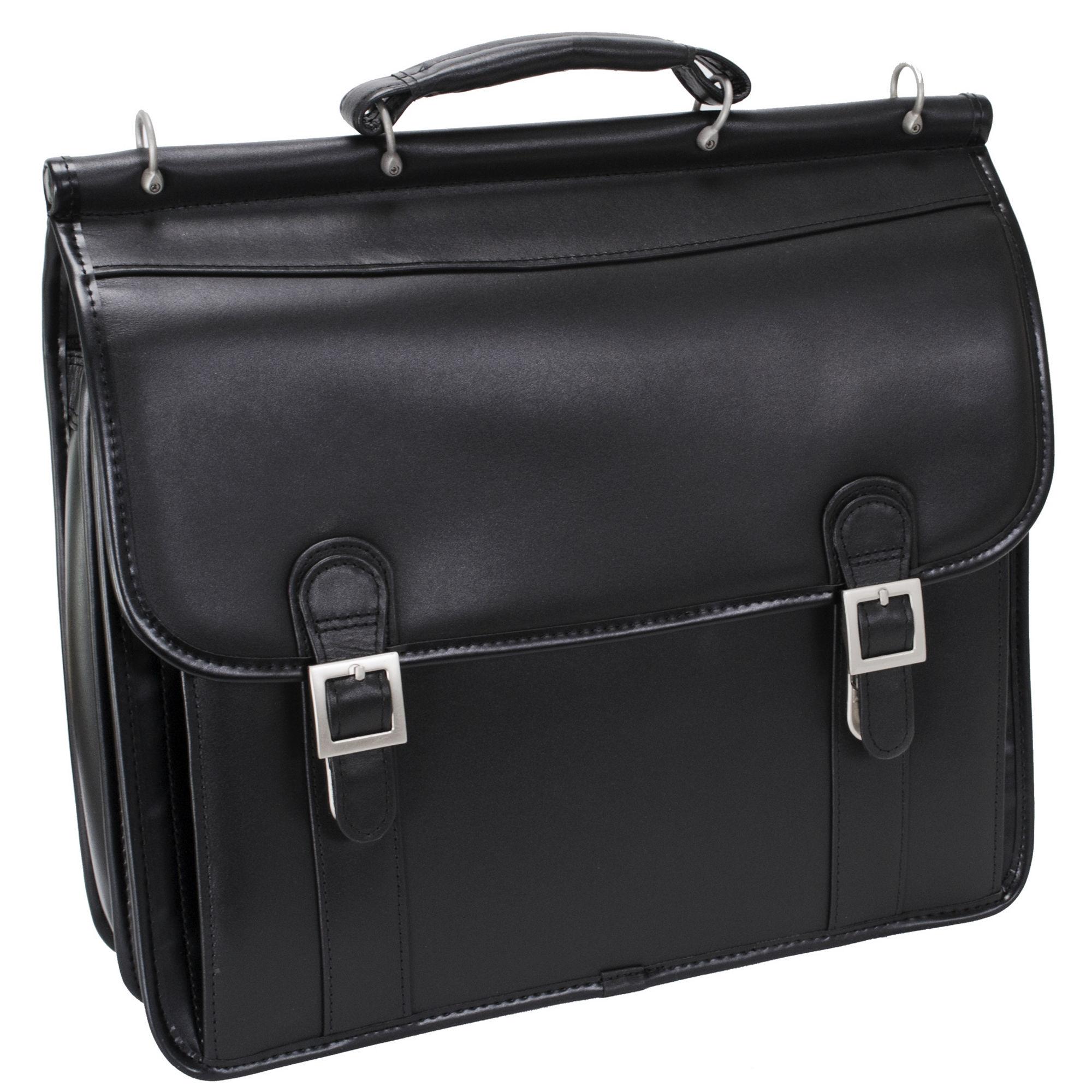 "McKlein Halsted 15.5"" Double Compartment Laptop Case"