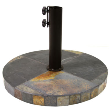 jcpenney.com | Outdoor Interiors 20 in. Round Rustic Slate Umbrella Base