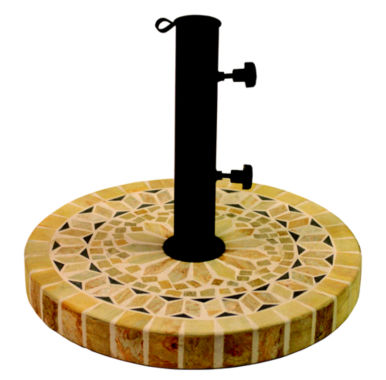 jcpenney.com | Outdoor Interiors 20 in. Round Light Sandstone Umbrella Base