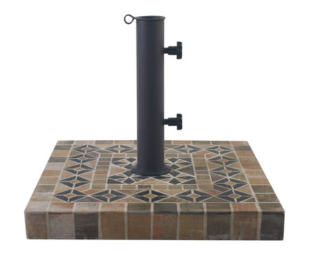 jcpenney.com | Outdoor Interiors 20 in. Square Dark Sandstone Umbrella Base