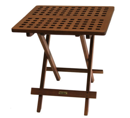 jcpenney.com | Outdoor Interiors Brazilian Eucalyptus Folding Side Table