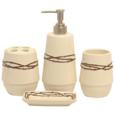 jcpenney.com | Hiend Accents 4-pc. Bath Accessory Set