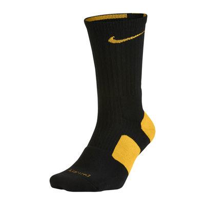 officiel à vendre Nike Chaussettes De L'équipage D'élite De Basket-ball Noir Jaune jeu 2014 unisexe moins cher vente grand escompte xOL6M1Gx9