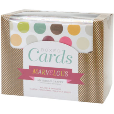jcpenney.com | Box of 40 Patterned Cards with Envelopes