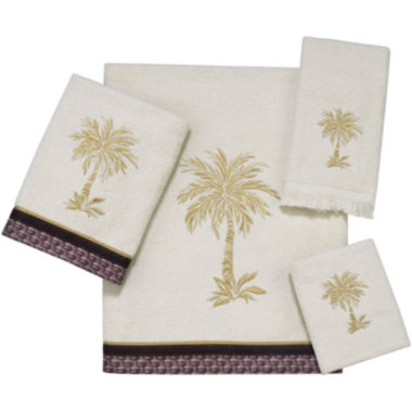 jcpenney.com | Avanti Oasis Palm Bath Towels