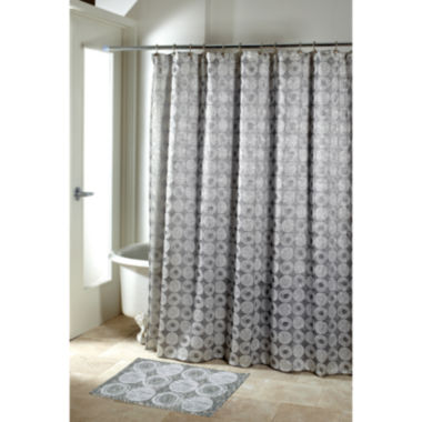 jcpenney.com | Avanti Galaxy Silver Shower Curtain