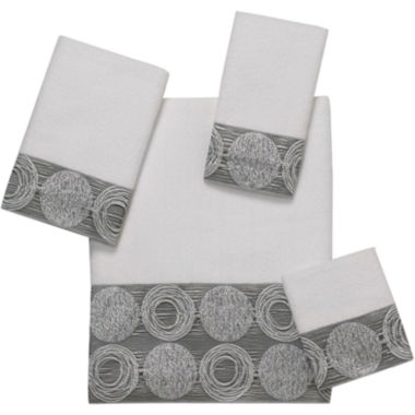 jcpenney.com | Avanti Galaxy Silver Bath Towels
