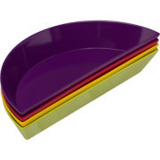Zak Designs® 4-pc. Circle Snack Dishes