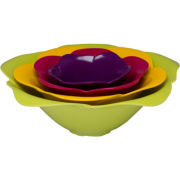 Zak Designs® 4-pc. Rose Bowl Set