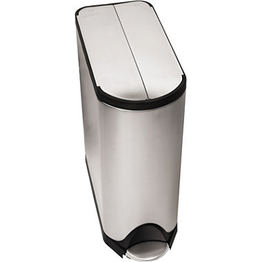 jcpenney com   simplehuman  45L Butterfly Step Trash Can. simplehuman  45L Butterfly Step Trash Can   JCPenney