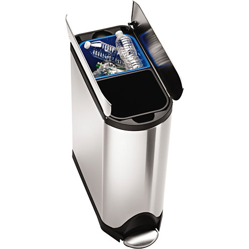 simplehuman® 40L Butterfly Step Recycler