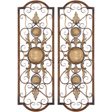 jcpenney.com | Micayla Set of 2 Metal Wall Decor