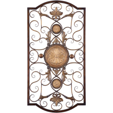jcpenney.com | Micayla Large Scrollwork Iron Metal Wall Decor