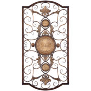Micayla Large Scrollwork Iron Metal Wall Decor