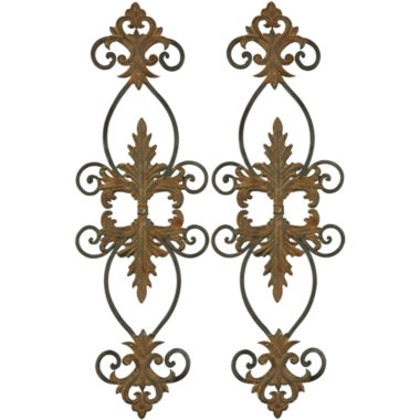 jcpenney.com | Lacole Set of 2 Iron Metal Wall Decor