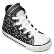 kids black converse high tops