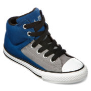 Converse Chuck Taylor All Star Street Boys High-Top Sneakers - Big Kids