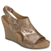 A2 by Aerosoles® Cloud Plush Wedge Sandals