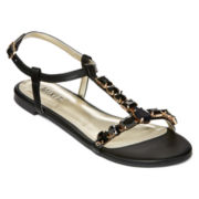 Mixit™ Jeweled Ankle-Strap Sandals