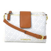 Liz Claiborne® Monogram Crossbody Bag