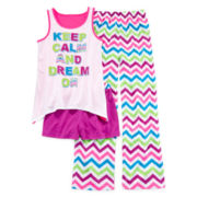 Total Girl® Keep Calm 3-pc. Sleep Set – Girls 4-16