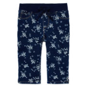 Arizona French Terry Capri Jeggings - Toddler Girls 2t-5t