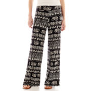 Sugar High Knit Palazzo Pants