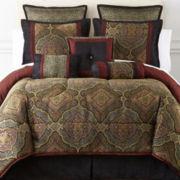 Victoria Falls 7-pc. Jacquard Comforter Set & Accessories