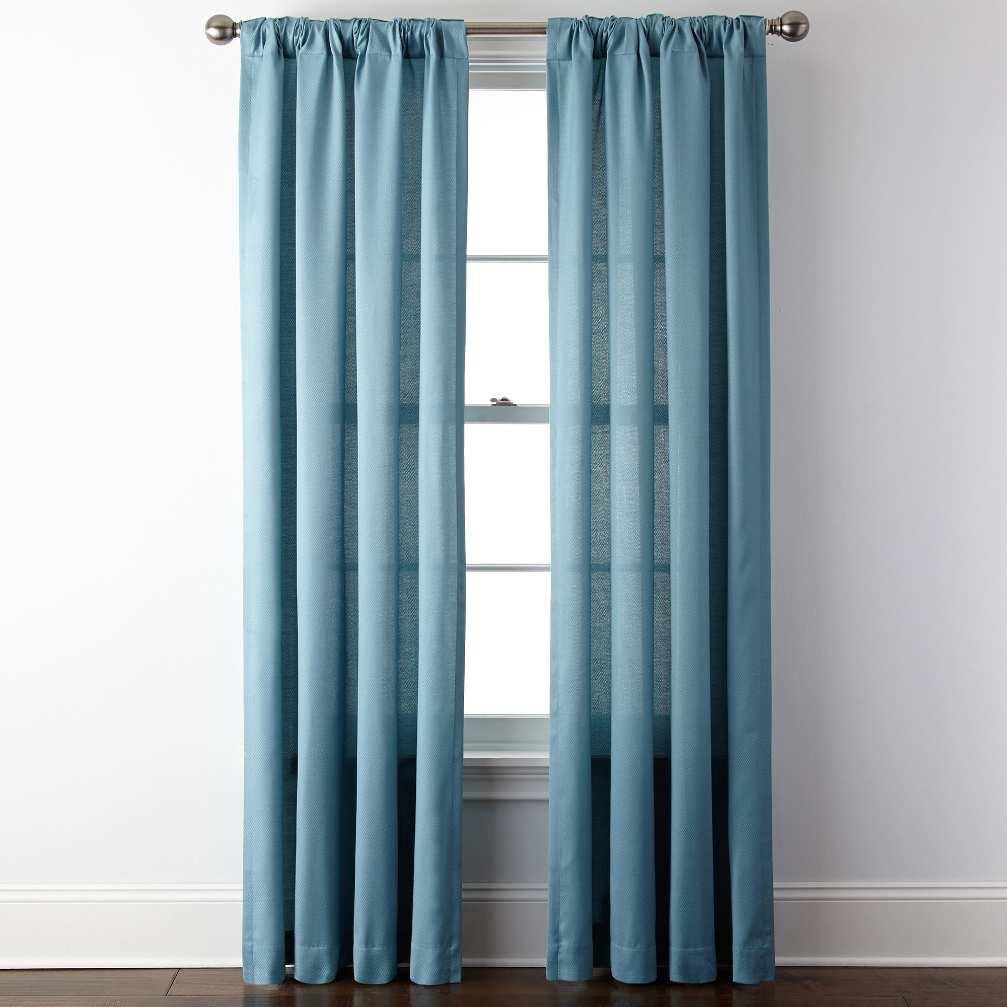 Ivory And Brown Curtains