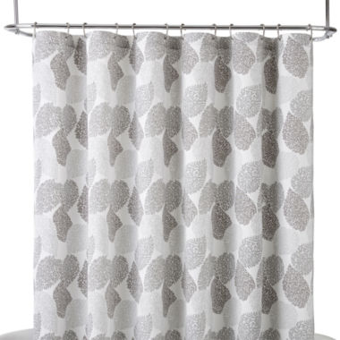 jcpenney.com | Liz Claiborne® Speckle Leaf Shower Curtain