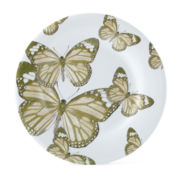 JCPenney Home™ Butterfly Set of 4 Melamine Salad Plates