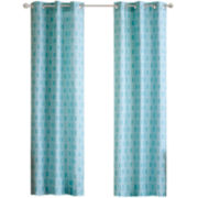 Lexie Grommet-Top Teen Curtain Panel Pair