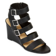 a.n.a® Major Wedge Womens Sandal