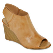 a.n.a® Connie Wedge Womens Booties