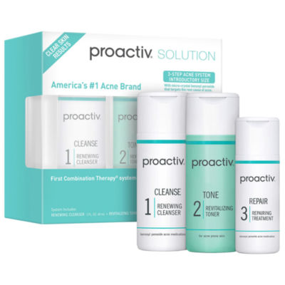 Proactiv Proactiv Solution 3 Step Acne Treatment System 30 Day Introductory Size Jcpenney