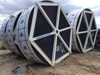 (6 Rolls) Approx. 1700 ft Roll Fenner Dunlop 29,850# Roll 42