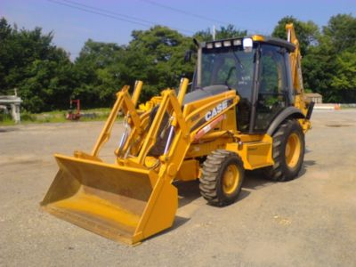 2011 Case 580M Tractor Loader Extendahoe