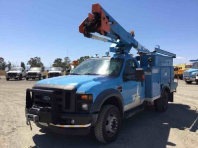 HiRanger TL38-P Bucket Truck,