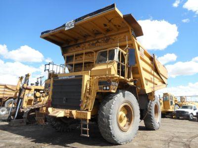 1989 Caterpillar 777B, 100-Ton Off Highway Rock Dump Truck