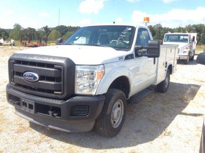 2011 Ford F250 4x4 Service Truck