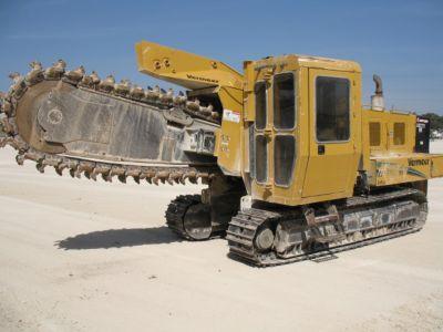 2007 Vermeer T755 III Crawler Trencher