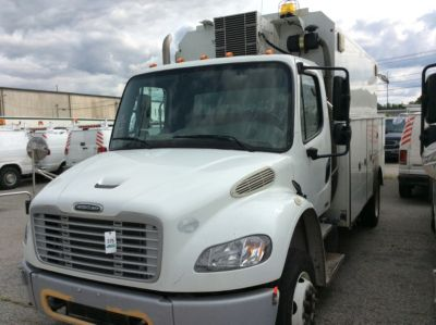 2012 FREIGHTLINER M2 106 ENCLOSED UTILITY TRUCK,