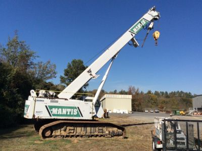 2001 Mantis 8012, 40 Ton Hydraulic Crawler Crane