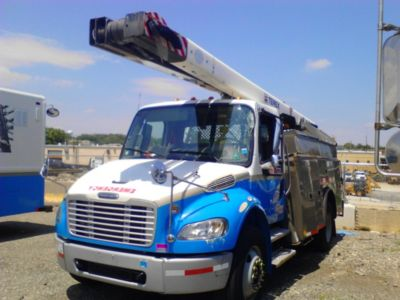 HiRanger/Terex SC45, 50 ft, Bucket Truck