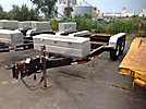 (10) 2006 Baldor T/A Tagalong Trailers, with 12' level deck between wheels, tool boxes & No Decking
