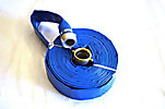 (2) 50' Pieces 2 Discharge Water Hoses, (New/Unused)