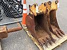 (2) Backhoe Digging Buckets